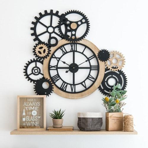 Horloge à rouages 9x9  Maisons du Monde