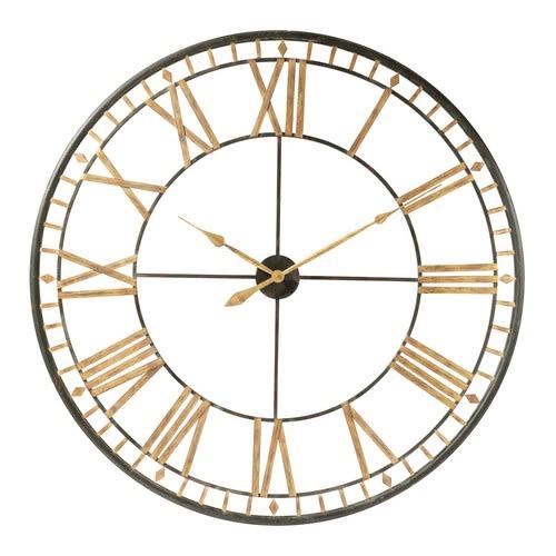 Horloge En Metal Noire D120