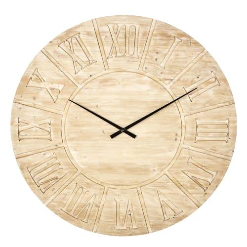 Horloge En Sapin Grave D120 Louvain Maisons Du Monde