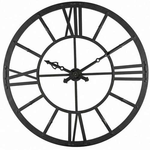 Horloge Lumineuse En Metal Noir D 121cm