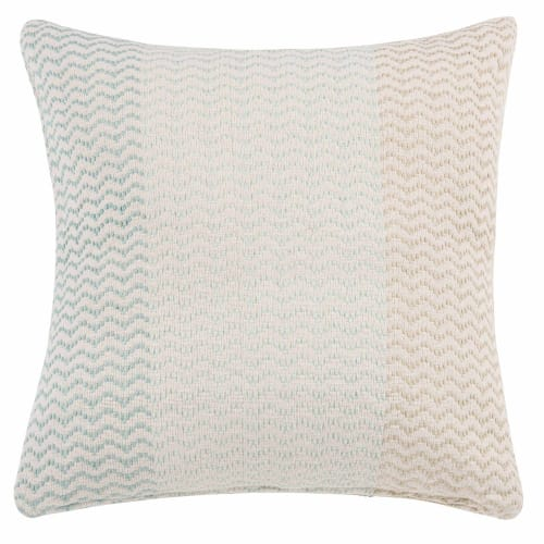 Housse de coussin en coton motif jacquard 50x50 | Maisons du Monde