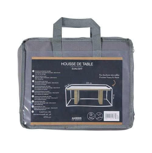 Housse de protection pour table de jardin 151x251
