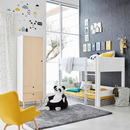 Kissen gelb/grau 40 x 40 cm