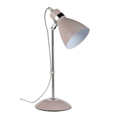 Lampada Da Tavolo In Metallo In Metallo Rosa Pix Maisons Du Monde