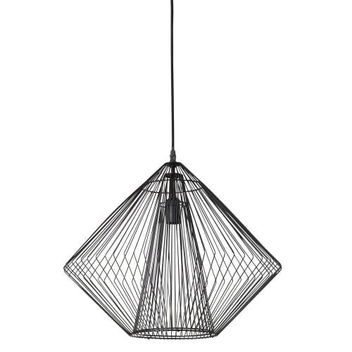 Lámpara 50 de alambre metal de de negro mate techo D 6bYfgy7vI