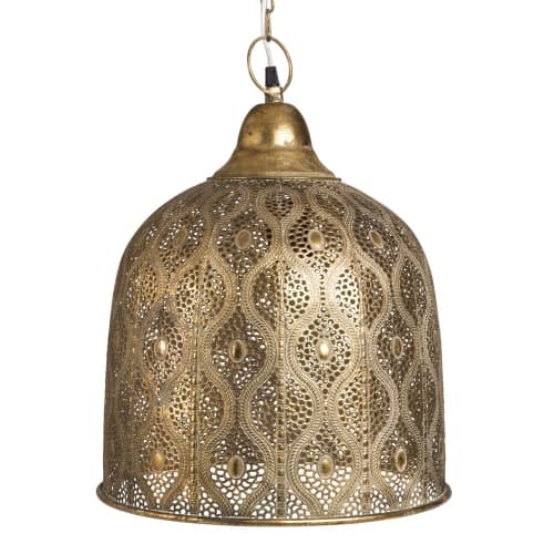 Lámpara dorado metal de de techo decorativos con motivos UMGzVqSp