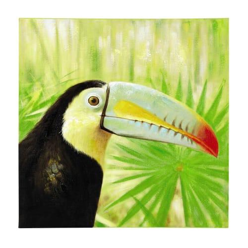 Vogel Tukan Leinwandbild Wanddeko Kunstdruck