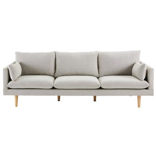 Light Grey 3 Seater Sofa
