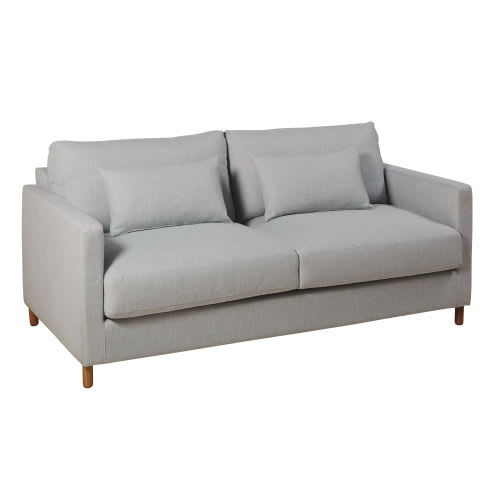Awe Inspiring Light Grey 3 Seater Sofa Bed Mattress 14 Cm Download Free Architecture Designs Ogrambritishbridgeorg