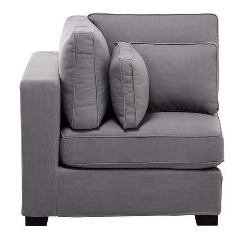 Light Grey Modular Corner Sofa
