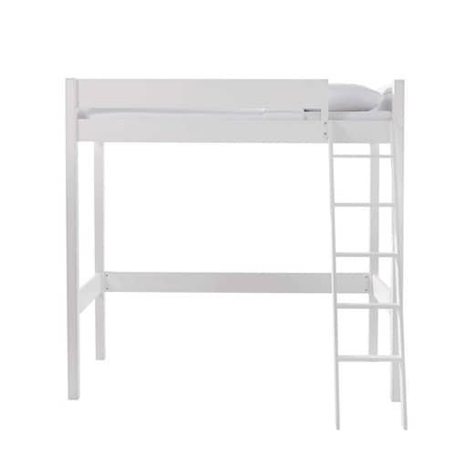 Lit Mezzanine 90x190 Blanc