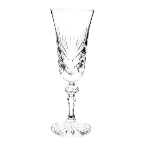 crystal champagne flute losange maisons du monde. Black Bedroom Furniture Sets. Home Design Ideas