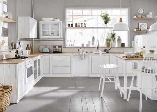 Meuble Bas De Cuisine Pour Lave Vaisselle Blanc Embrun Maisons