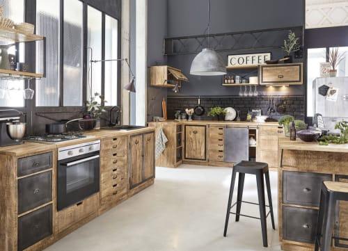 Ante In Legno Massello Per Cucina.Mobile Basso Da Cucina Con Lavello A 2 Ante In Legno Massello Di