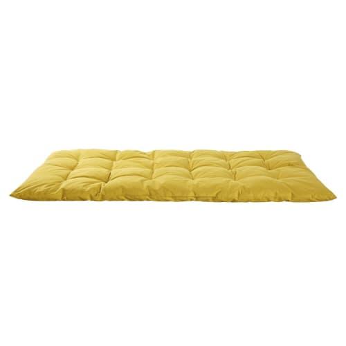 Mustard Yellow Cotton Futon 60x120 Maisons Du Monde