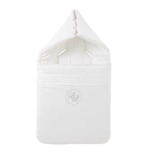 Nid d'ange en coton blanc