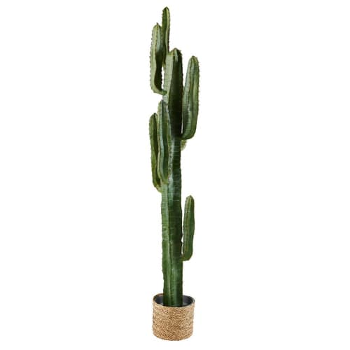 Outdoor Artificial Cactus In Pot, Outdoor Artificial Cactus Plants