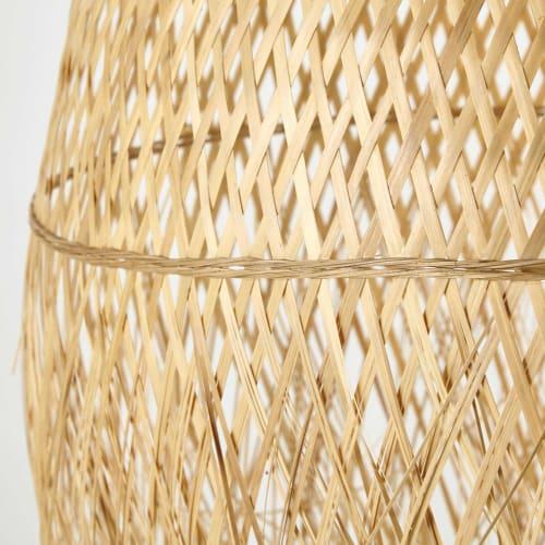 Pantalla de trenzado de D techo lámpara para bambú 42 XuOZwkPiT