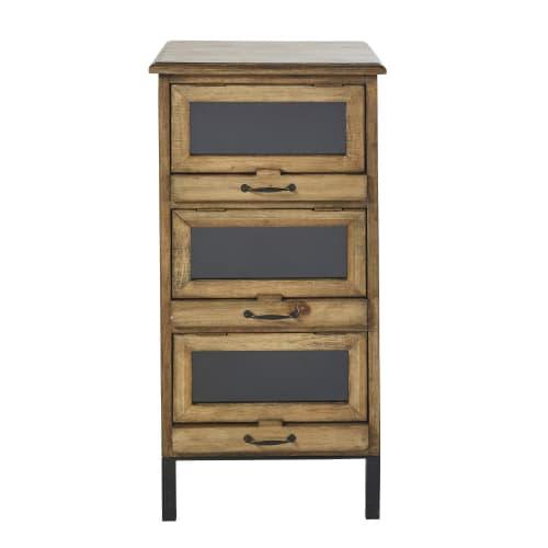 Petit meuble de rangement 10 tiroirs  Maisons du Monde