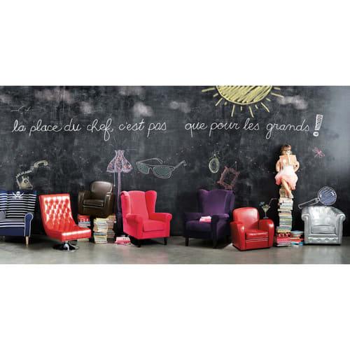 Poltrone Per Bambini Design.Poltrona Club Rossa Per Bambini