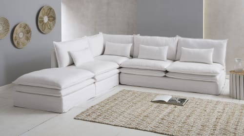 Fuyamp Ensemble de meubles de maison de poup/ée Blanc /à l/échelle 1//12