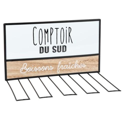Printed Metal Glass Holder Comptoir Du Sud Maisons Du Monde