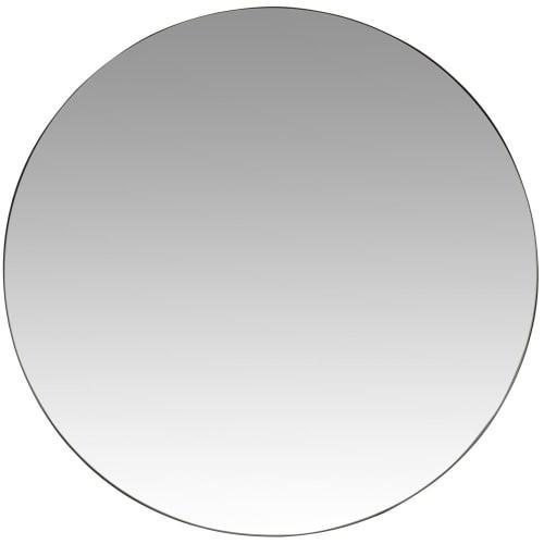Verwonderlijk Ronde spiegel van zwart metaal D70 Davis | Maisons du Monde IX-42