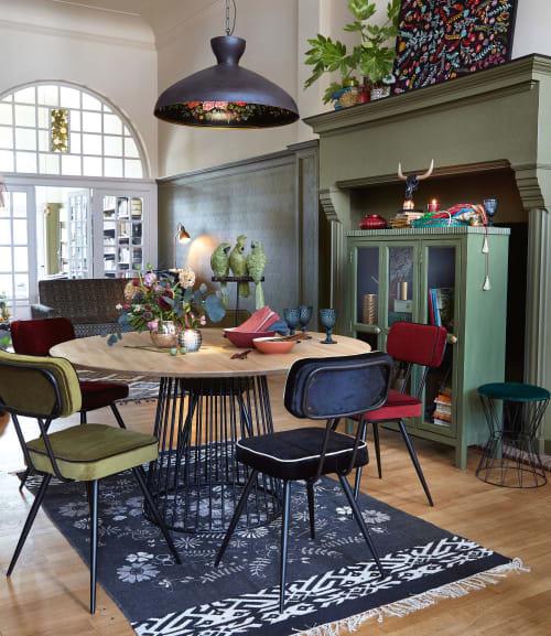 Runder Esstisch für 46 Personen aus Mangoholz D140 | Maisons du Monde