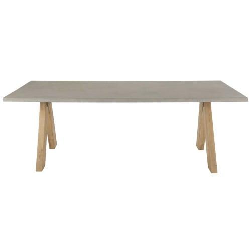 Betontisch Mit Holzeinlage Betontisch Feine Mobel Und Tisch