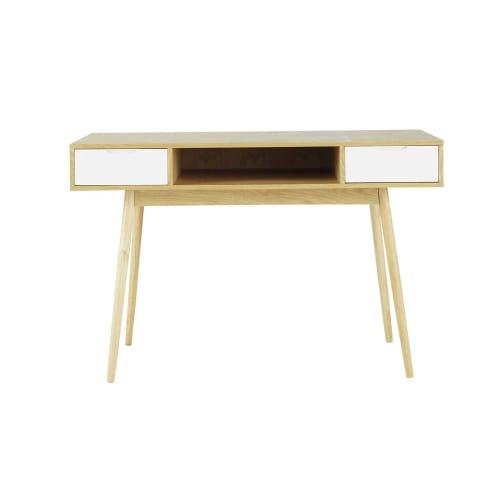 Schreibtisch im Vintage-Stil mit 2 Schubladen | Maisons du Monde