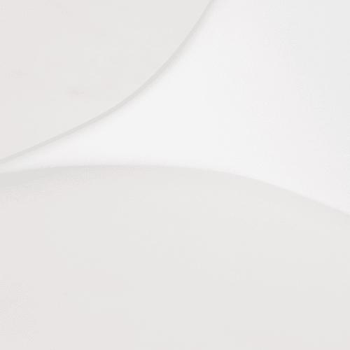 Sedia bambino stile scandinavo bianca in rovere Ice