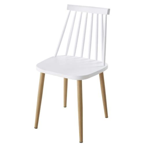 Sedie Da Giardino Bianche.Sedie Da Giardino Professionali Bianche E Metallo Imitazione