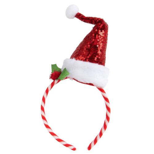 Serre Tete De Noel Serre tête bonde Noël multicolore | Maisons du Monde