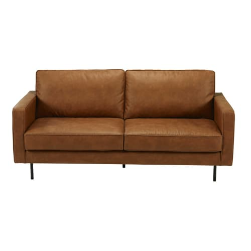 Sofa¡ de 2/3 plazas de tela camel