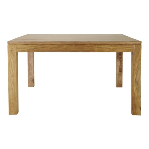 Solid Sheesham Wood Square Dining Table L140 Maisons Du Monde