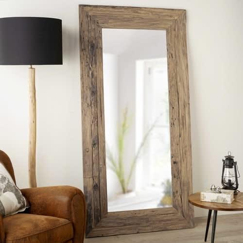 Specchi Per Bagno Maison Du Monde.Specchio In Tek Riciclato 100x200cm