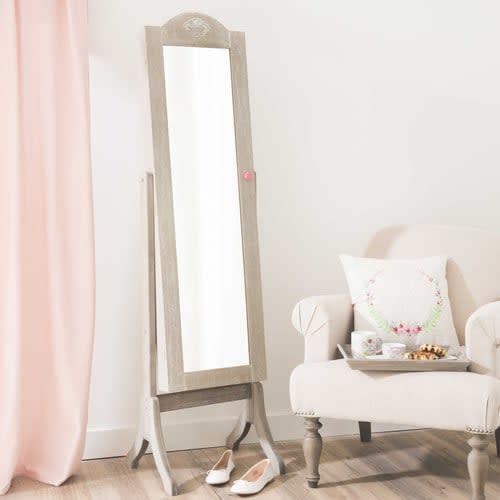 Specchi Per Bagno Maison Du Monde.Specchio Inclinabile Portagioielli 42x160 Cm