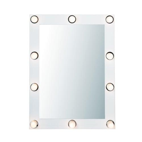 Ongebruikt Spiegel met verlichting 60x80 Loge | Maisons du Monde SW-19