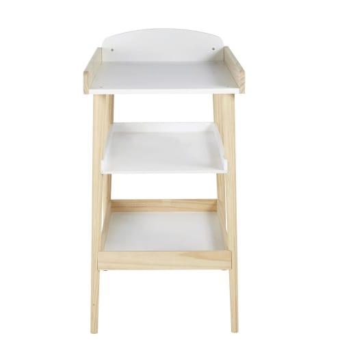 Table A Langer Style Scandinave 3 Plateaux