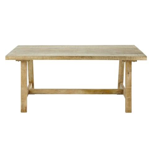 Table à manger en manguier 6/8 personnes L180