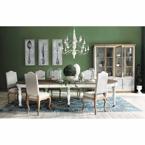 L125325 Table extensible personnes à roulettes à manger 614 dhQrstC