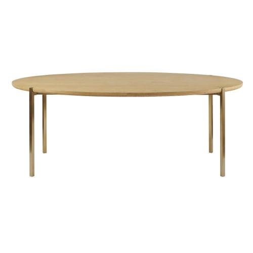 Table à Manger Ovale 6 8 Personnes L200 Maisons Du Monde