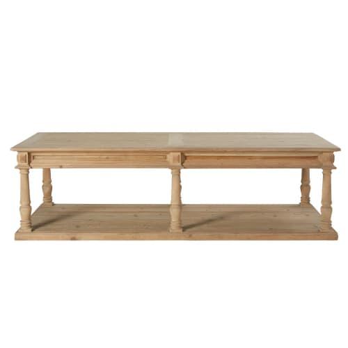 Table Basse 2 Plateaux.Table Basse 2 Plateaux 6 Pieds Sculptee Maisons Du Monde