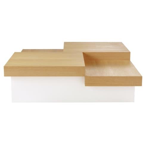 Table Basse Carree Austral Maisons Du Monde