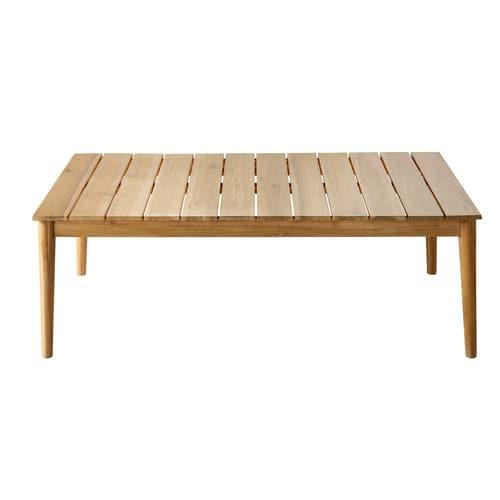 Table basse de jardin en acacia massif