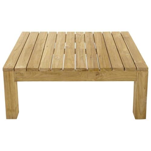 Table basse de jardin en teck L 102 | Maisons du Monde