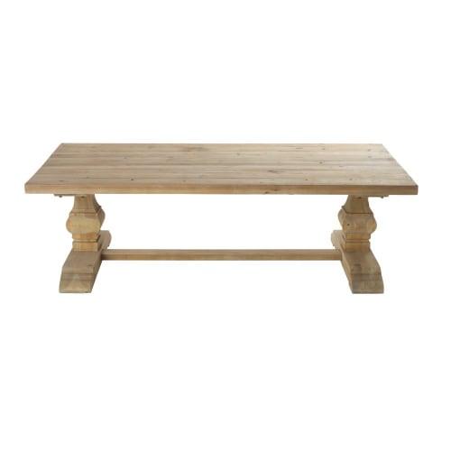 Table Basse En Pin.Table Basse En Pin Effet Vieilli Maisons Du Monde