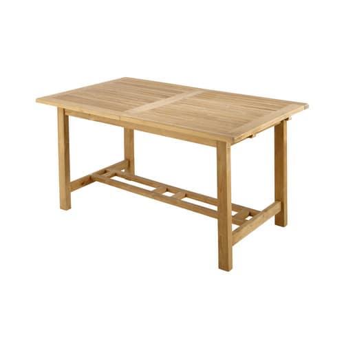 Table de jardin en teck massif L150
