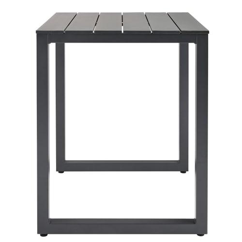 Table haute de jardin professionnelle en aluminium L75
