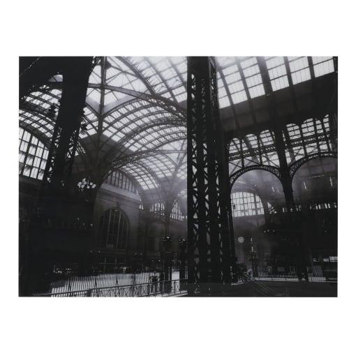 Tableau photo plexiglas noir et blanc 160x121
